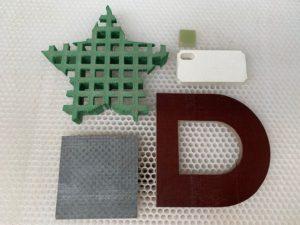 Pièces en plastique et composites